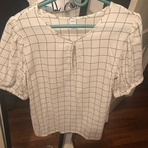 Brand new never worn old navy blouse